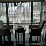 Executive room comes with an in-door balcony for drinking tea