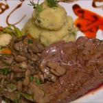 grilled steak/ızgara bonfile