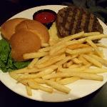 Kobe beef with thin cut fries