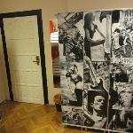 lockers in the 4 dorm room