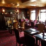 Dining room at the Black Swan