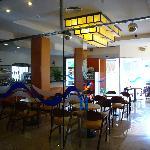 cafetería del hotel