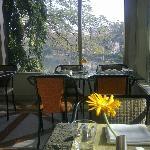 Restaurant- Breakfast(Lovely view of the lake)