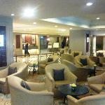 Guest sitting area in the lobby