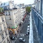 Vista da rue de l'Arcade