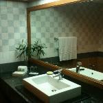 Bathroom with Bamboo