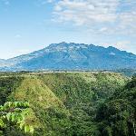 Vista panoramica del Volcan Baru