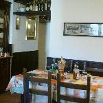 Tavolo in saletta appartata