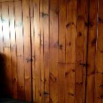 Classic Adirondack sytle - old school cabins. These are the bedroom doors