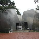 Unfinished pavilions.