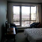 View from middle of room