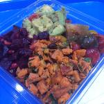 beets, Avacado, tomato, sweet potato