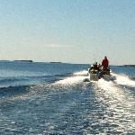 Safari in the archipelago of Helnessund