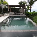 Pool/spa in villa.