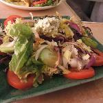de belles salades copieuses