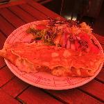 des omelettes géantes et délicieuse