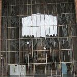 Coventry Cathedral, Coventry England - new looking out to old