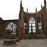 Coventry Cathedral, Coventry England - old