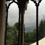 view of lake orta from second floor room