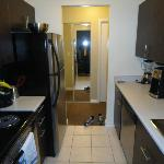 Kitchen including a dishwasher!