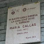 Maria Callas was here