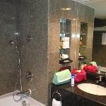 bathroom in deluxe terrace room