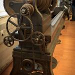 close up of one of the lathes