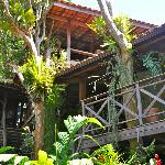 Rooms with nice wooden verandas
