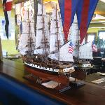 THE LANDINGS NAUTICAL scene by our table 9-20-12