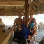 Our beach bar group.