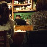 Lively bar scene
