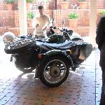 Motorcycle City Tours at Hotel Atrs