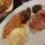 Celtic Lodge full Irish breakfast