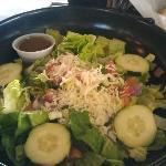 A generous salad