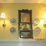 Mr and Mrs. Graves Suite above the mantel