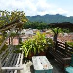 Stunning rooftop deck