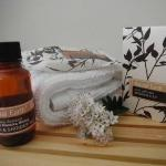 We provide our guests with 'Natural Earth' hair and boby care products which uses local manuka h