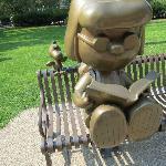 Peanuts Statue.