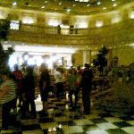 Lobby del Gran Hotel Ancira 100 años