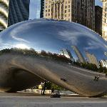 The Bean Millenium Park by day