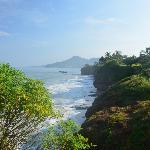 Scenic cliffs.
