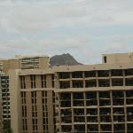 View of Diamond Head from balcony