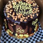 Special Order Cake - Peanut Chocolate Caramel Heaven