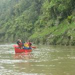 My Family doing the Whanganui River Journey
