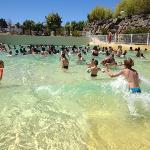 piscine à vague