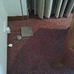 Outlet meant for floor lamp used to recharge mobile phone