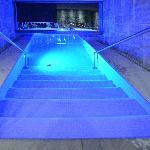 La piscina esterna riscaldata Verny