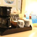 コーヒーメーカーも有ります