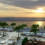 Sunset from Vue Beach Bar