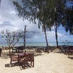 Seaside lounge/dinner terrace